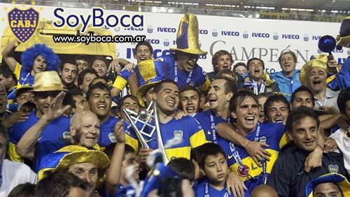 Boca campeén del Apertura 2011