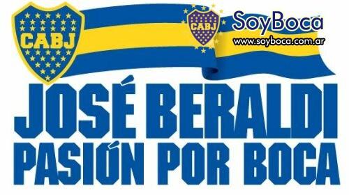 Jose Beraldi presenta su candidatura...