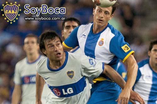 Cvitanich el autor del gol Xeneize frente al Espanyol de Barcelona