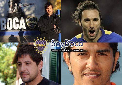 Orion Cvitanich Schiavi Sosa las nuevas caras de Boca Juniors
