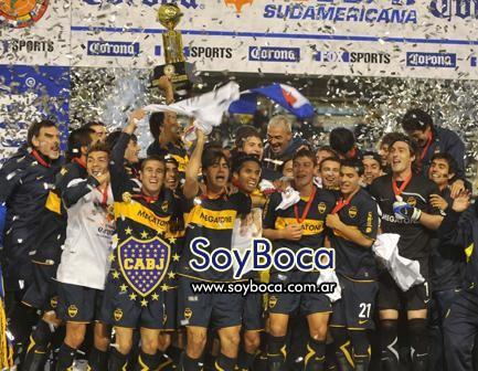 El último trofeo internacional se ganó vs Arsenal de Sarandi...
