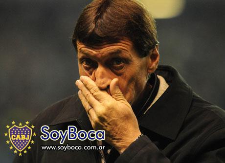 Falcioni un DT de equipo chico en el club mas grande del pais, Boca Juniors