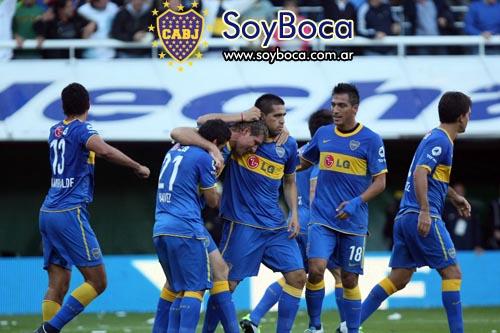 El festejo de Boca Juniors vs River en la Bombonera