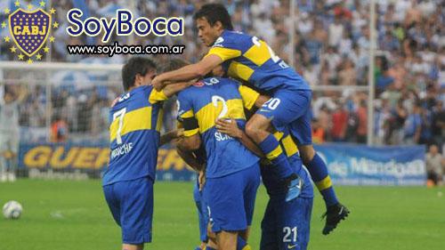 Boca le gano a Godoy Cruz 2 a 1