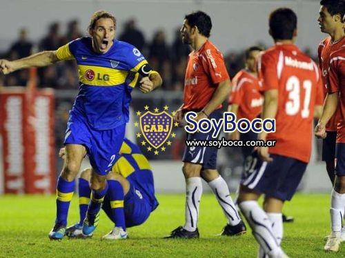 Schiavi fue la figura de Boca frnete a Independiente