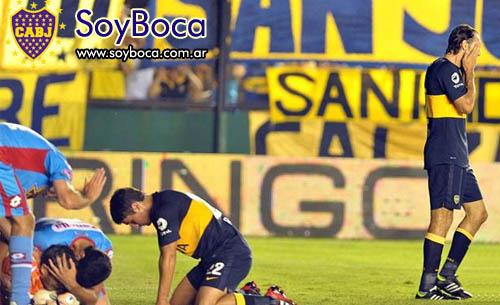 Boca perdió con Arsenal