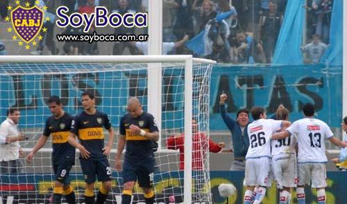 Boca perdio con Belgrano en Cordoba