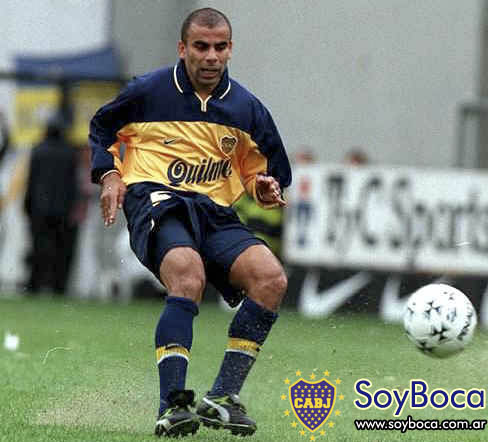 Chicho Serna Boca Juniors