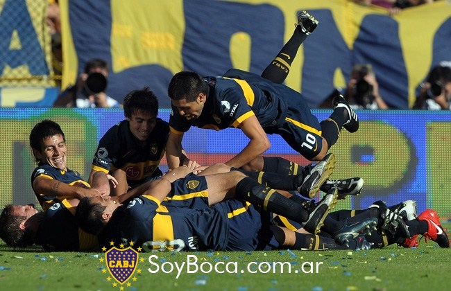 Volvio Boca!