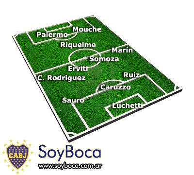 Boca Juniors vs Tgre en la Bombonera por la fecha 10 del Clausura 2011