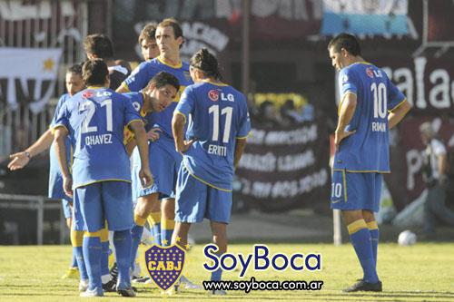 Boca perdió con Lanús en el Sur